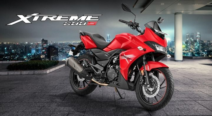 hero xtreme 200s bs6 price in india cheapest fully faired bikes in india