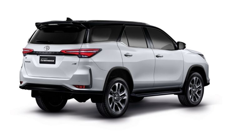 2021 Toyota Fortuner Facelift BS6 Price
