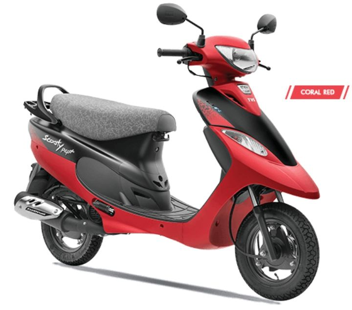 tvs scooty pep plus bs6 price in india