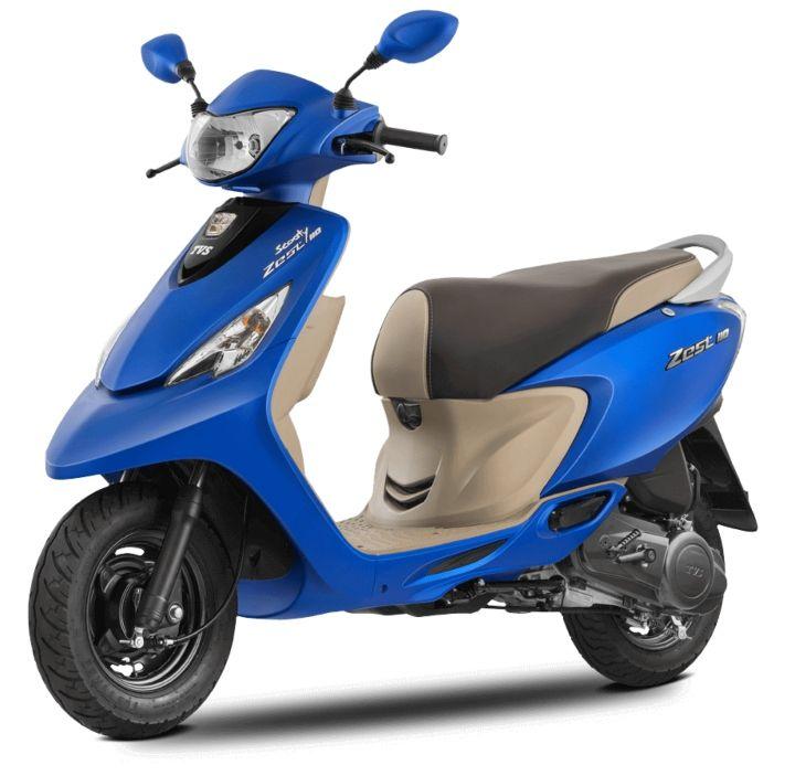 tvs scooty zest 110 bs6 price in india