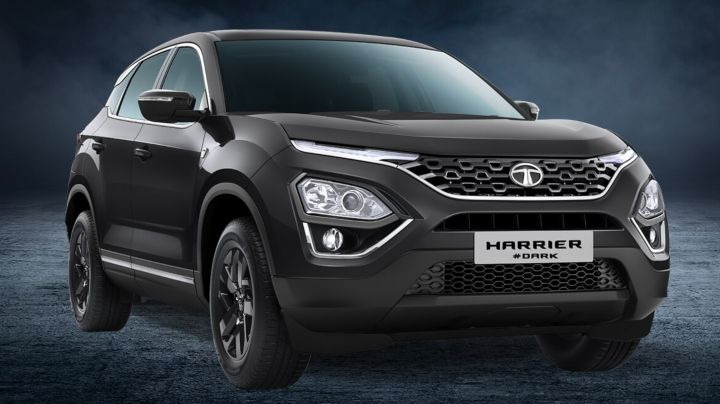Tata Harrier Camo Vs Dark Edition