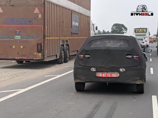 2020 Hyundai i20 India rear Image