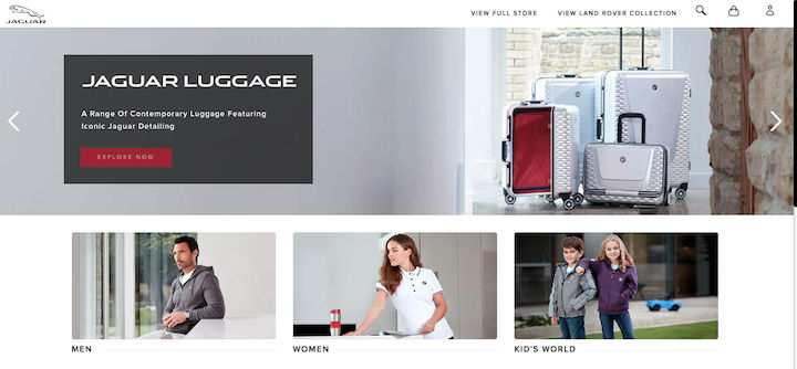 JLR Lifestyle Collection goes online in India