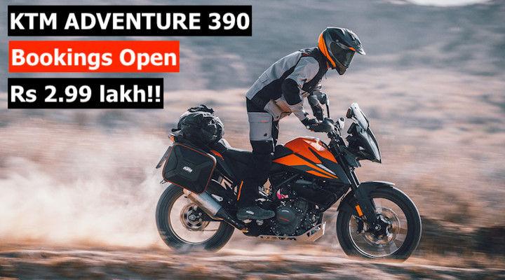 KTM Adventure 390 Price Revealed, Bookings Open