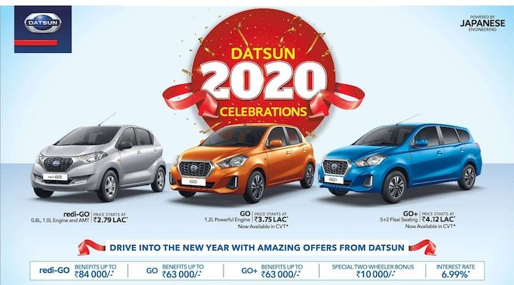 Datsun January 2020 Discount