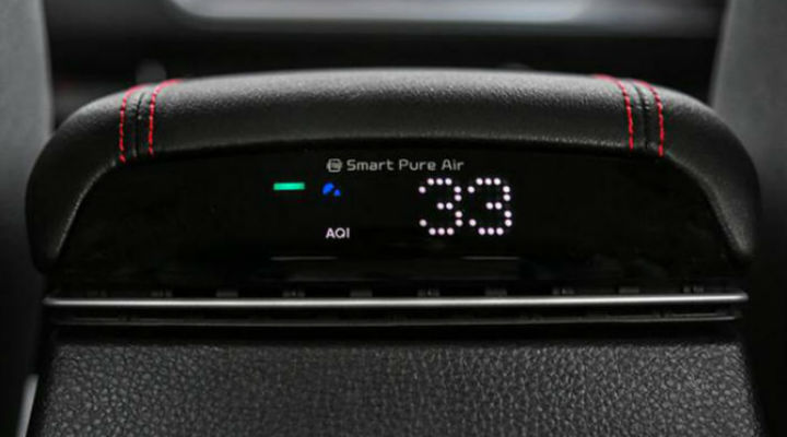 New SUVs with factory fitted air purifiers