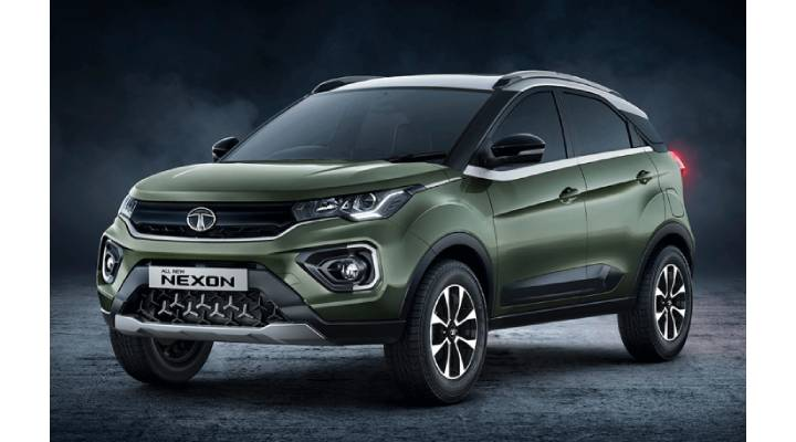 Tata Nexon Facelift Prices Images