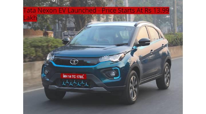 Tata Nexon EV Price Image