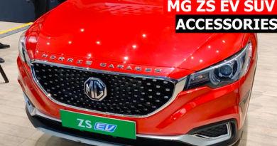 mg zs ev accessories
