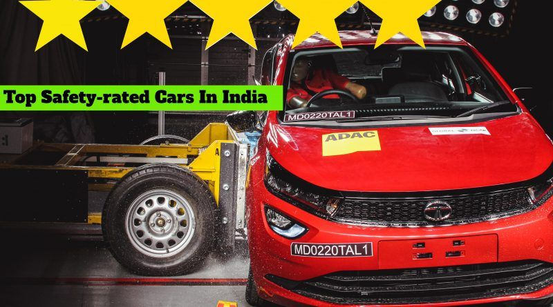 top safety-rated cars in India