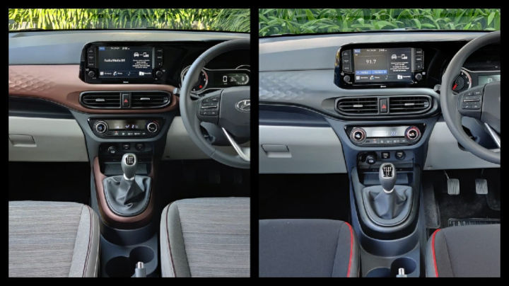 Hyundai Aura Interiors Turbo Petrol Image