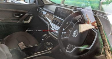 2020 Tata Harrier Automatic Interiors