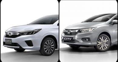 2020 Honda City vs Current Honda City Image