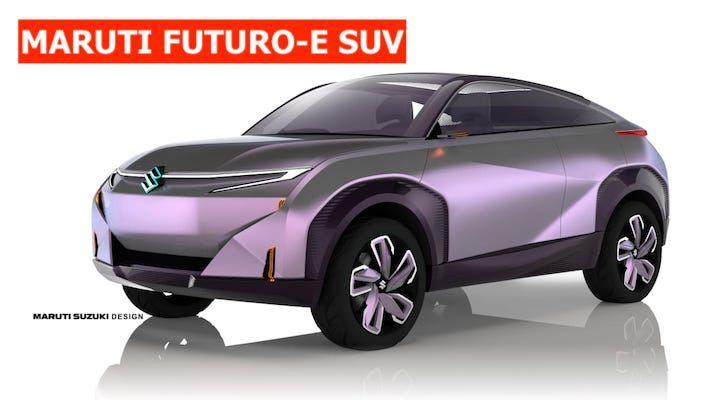 maruti futuro-e SUV