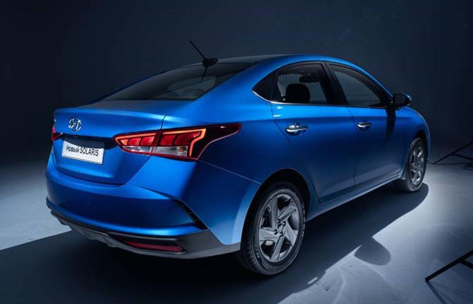Hyundai Verna Facelift Rear