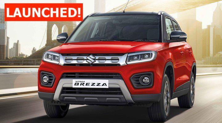 2020 Maruti Vitara Brezza Launched From Rs 7.34 lakh