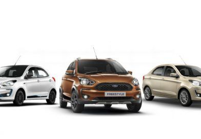 Ford launches BS6 Figo, Aspire & Freestyle