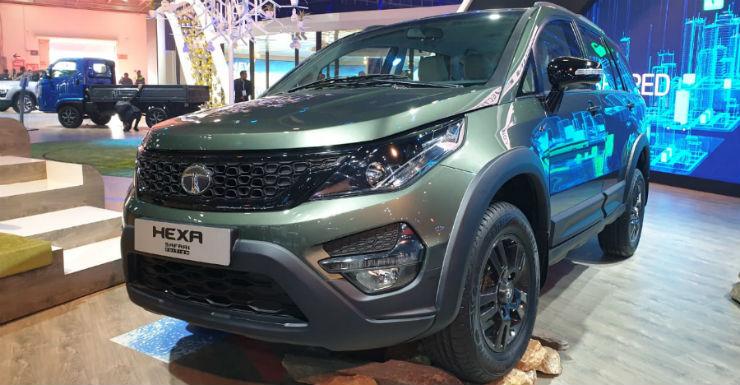 Tata Hexa Safari Edition Image