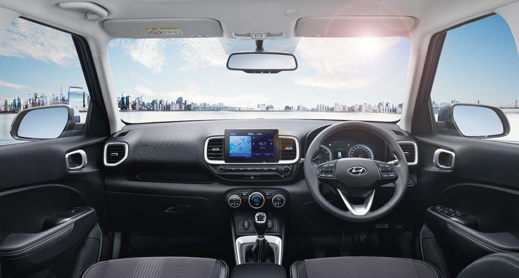 Hyundai Venue BS6 Interiors