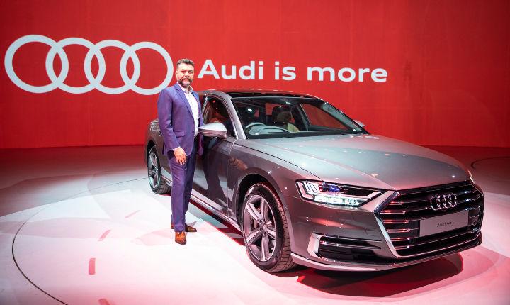 Audi India online sales
