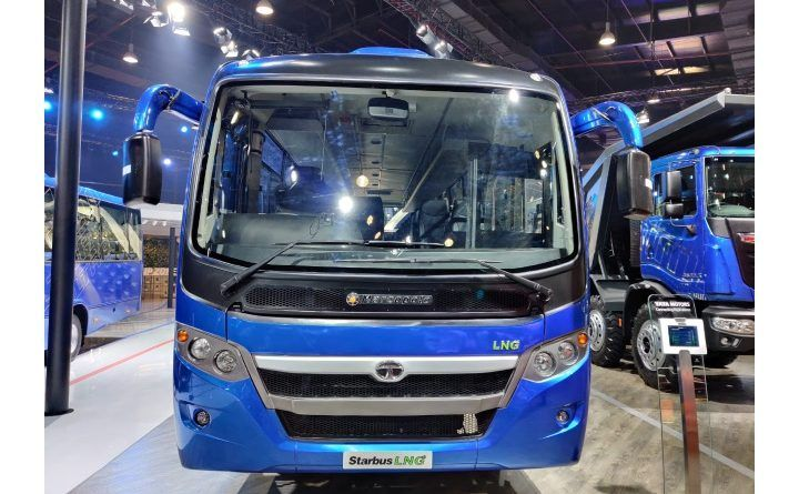 Tata Motors Starbus LNG Front