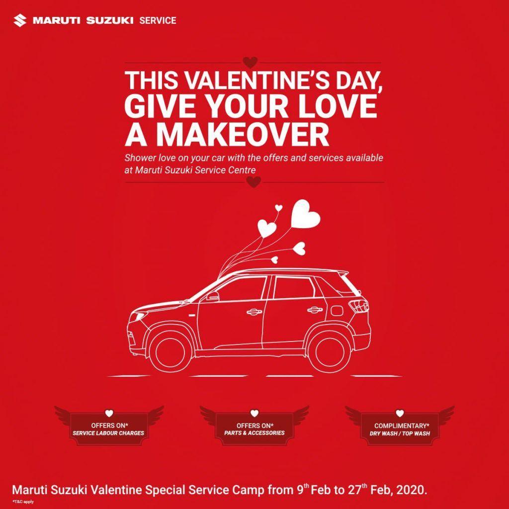 Maruti Suzuki Valentine Offer