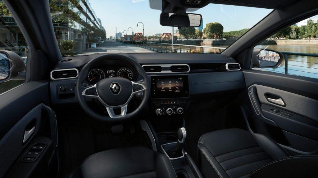 Updated Renault Duster Interiors