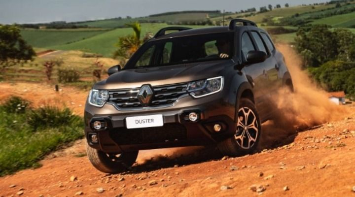 Updated Renault Duster