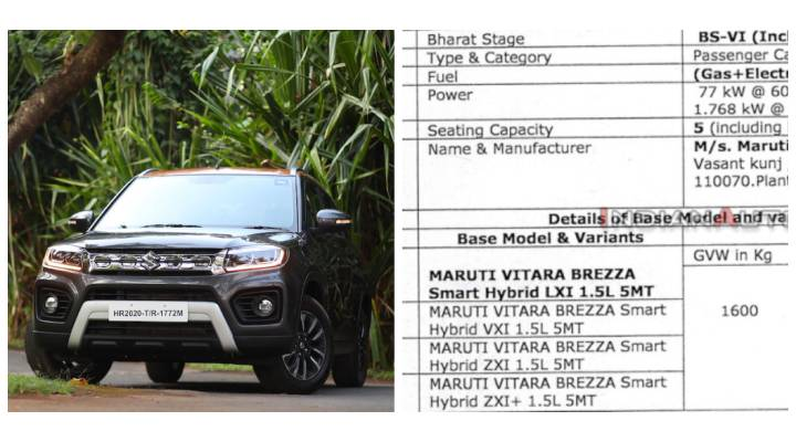 2020 Maruti Brezza Petrol To Get Mild Hybrid In Manual Transmission