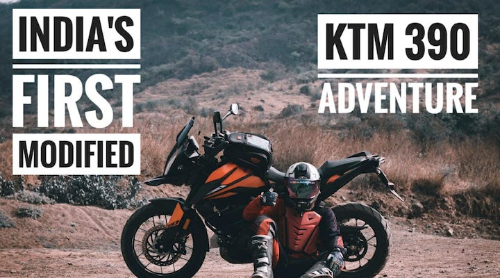 India's first modified KTM 390 Adventure