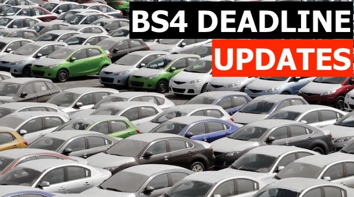 Sale Of BS4 Cars