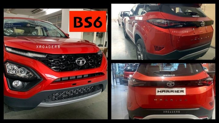 Tata Harrier BS6 reach dealerships: Deliveries starting soon