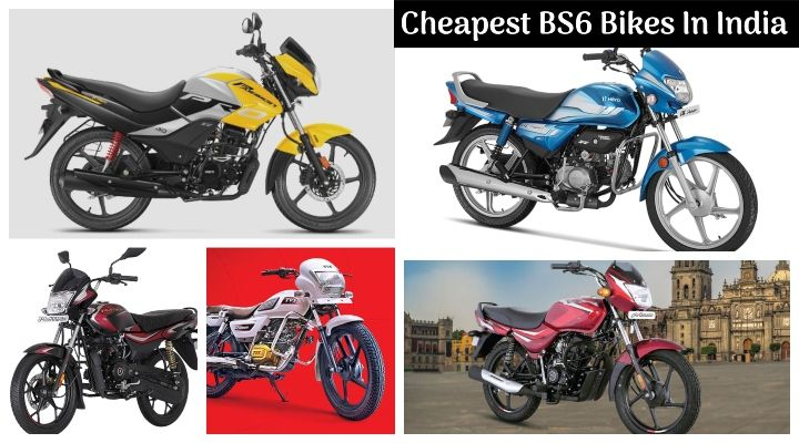 Top 10 Cheapest Bs6 Bikes In India Bajaj Ct 100 Bs6 To Hero Hf Deluxe Bs6