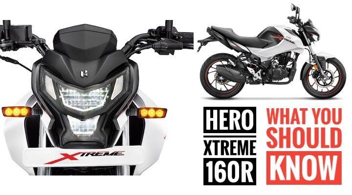 hero xtreme 160R bs6