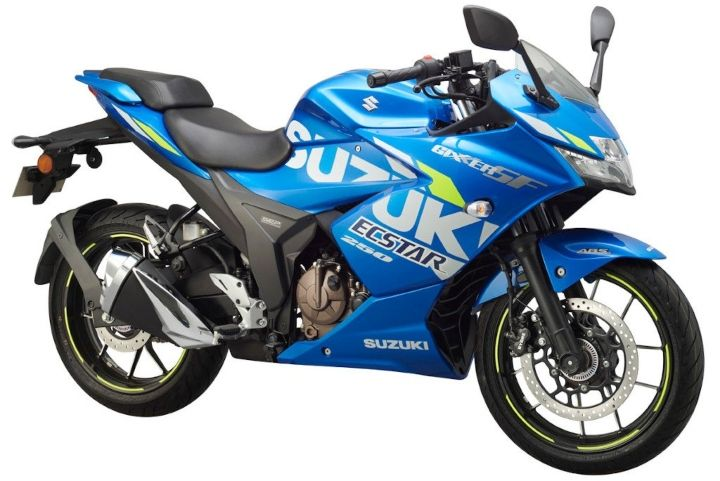 suzuki gixxer 250 bs6 price in india