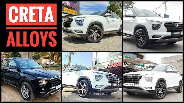 2020 Hyundai Creta Alloy Wheels: Top 5 Aftermarket Designs