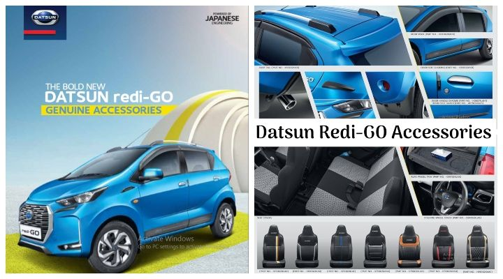 New 2020 Datsun Redi-GO BS6 Accessories - Price and Features Explained!