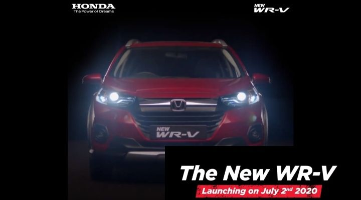 2020 Honda WR-V To Launch On July 2 - Book Yours Now