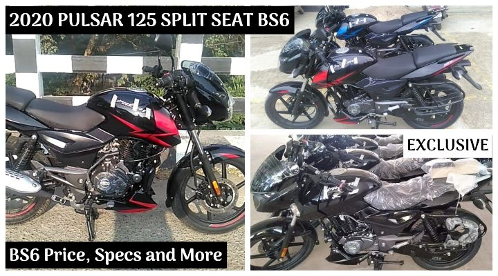 EXCLUSIVE: 2020 Bajaj Pulsar 125 Split Seat BS6 Arrived at Dealership - Price, Specs and More!