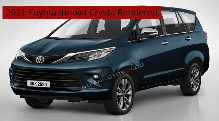 is this how the upcoming 2021 toyota innova crysta looks