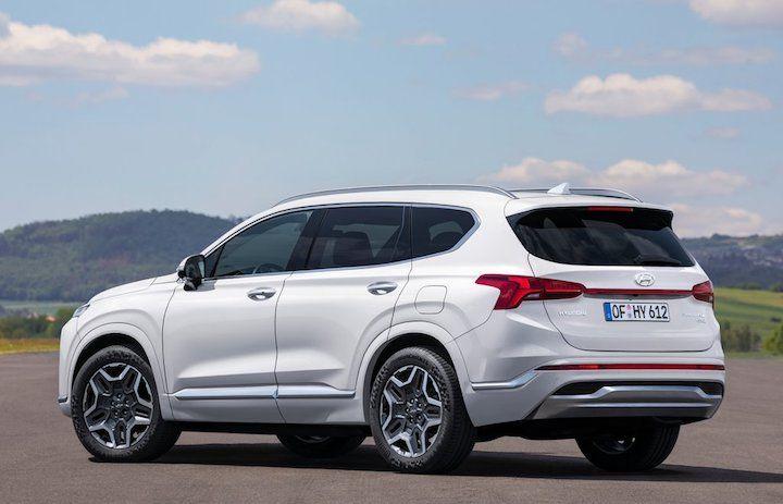 2021 Hyundai Santa Fe rear