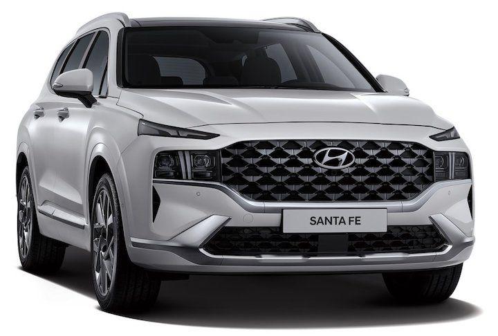 2021 Hyundai Santa Fe front