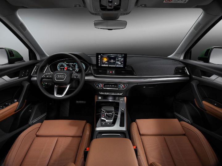 2021 Audi Q5 facelift interiors