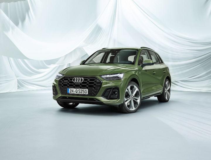2021 Audi Q5 facelift front