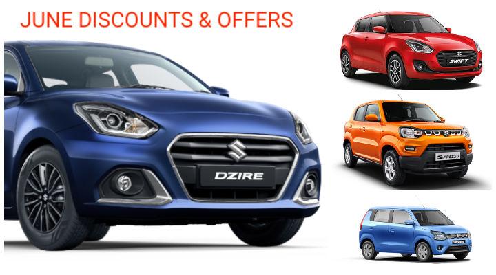 Maruti Suzuki Cars Discounts in June 2020; Wagon-R to Dzire Facelift