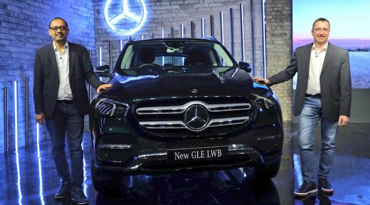 Mercedes-Benz GLE LWB New Top-End Petrol And Diesel Variants Launched