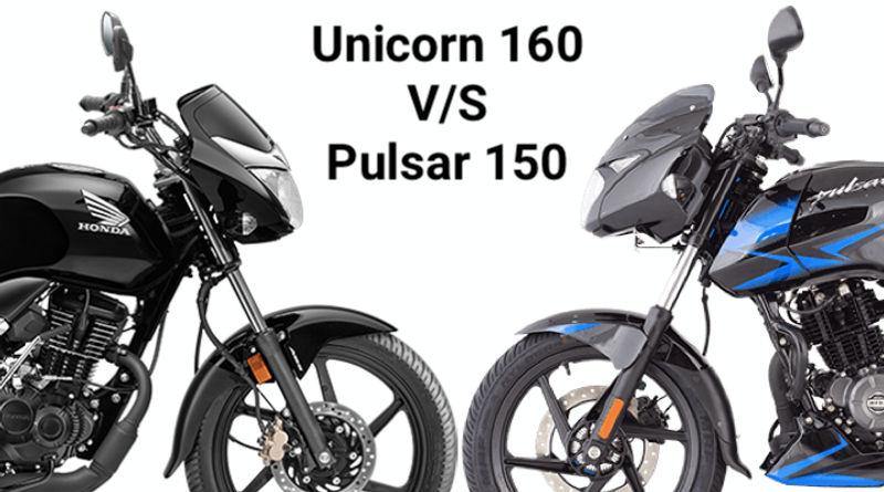 2020 Honda Unicorn 160 Bs6 Vs Bajaj Pulsar 150 Bs6 Which Is The