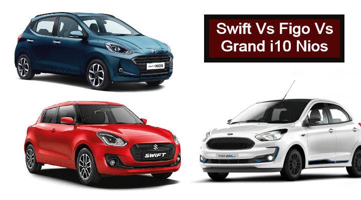 Upcoming Maruti Swift Dualjet Vs Ford Figo Vs Grand i10 Nios Petrol: Affordable Hot Hatchbacks