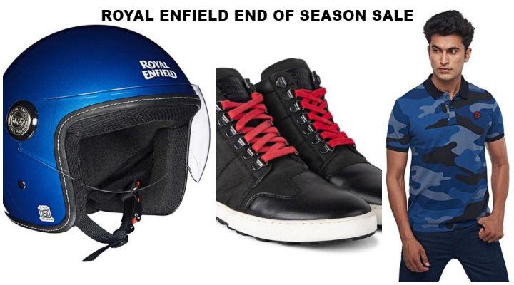 Royal Enfield End of Season Sale; Buy RE Merchandise at 40% Off!