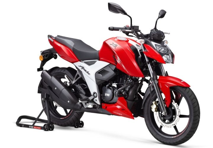 tvs apache rtr 160 4v bs6 price in india